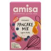 Mix pentru Clatite Fara Gluten Bio Amisa 2x180gr