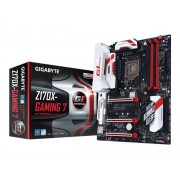 Gigabyte GA-Z170X-Gaming 7 - 1.0 - carte-mère - ATX - Socket LGA1151 - Z170 - USB 3.0, USB 3.1, USB-C - 2 x Gigabit LAN - carte graphique embarquée - audio HD (8 canaux)