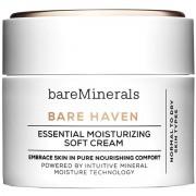 Bareminerals bare haven essential crema idratante per pelle normale e secca 50 ml