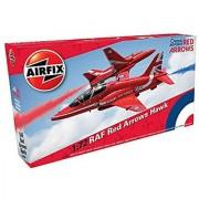 Airfix A02005C RAF Red Arrows Hawk Military Plastic Model Kit (1:72 Scale)