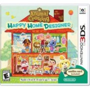 Joc Animal Crossing Happy Home Designer + Special Amiibo Card pentru 3DS