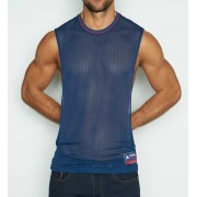 C-IN2 Scrimmage Athletic Muscle Top T Shirt Armada Navy 6827-467