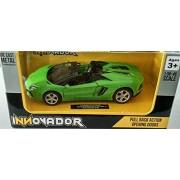 Innovador 1:38 Lamborghini Aventador LP 700-4 Roadster(Green)