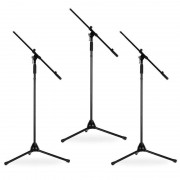 Auna Set 3x Malone ST-12-MS Support micro