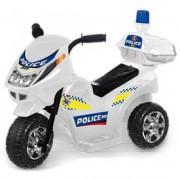 Elektromos háromkerekű rendőrmotor - 65 cm, 6V, bébimotor - Járművek
