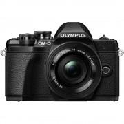 Olympus OM-D E-M10 Mark III Aparat Foto Mirrorless 16MP MFT 4K Kit cu Obiectiv Pancake 14-42mm Negru