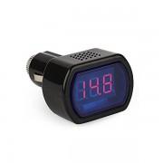 Dr. CAR szivargyújtós digitális feszültségmérő, voltmérő, akku teszter, 12 - 24V