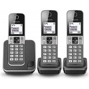 Panasonic KX-TGD313NLG - Trio DECT telefoon - Grijs