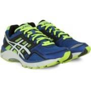 Asics Gel-Fortitude 6(2E) Men Running Shoes For Men(Black, Blue, White, Yellow)