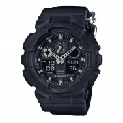 Casio G-SHOCK Standard Analog-Digital Montre GA-100BBN-1A - Noir