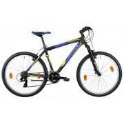"""Bicicleta MTB Good Bike Proxima, Roti 26"""", 21 Viteze (Negru/Albastru)"""