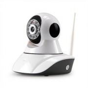 MIRZA Wireless HD CCTV IP wifi Camera | Night vision Wifi 2 Way Audio 128 GB SD Card Support for OPPO JOY 3