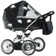 Plasa de tantari pentru carucior Baby Dan Reflex Cars 3300-11-92 (Negru/Alb)