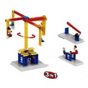 Little Builder Engineering Toy Merry-Go-Round Building Bricks Toy Set