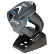 Cititor coduri de bare Datalogic Gryphon GBT4130, 1D, Bluetooth, USB, cradle, negru