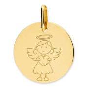 Orféva Médaille ange fille