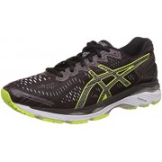 Asics Men's Gel-Kayano 23 Lite-Show Rioja Red, Black and Sulphur Spring Running Shoes - 7 UK/India (41.5 EU)(8 US)