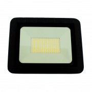 Proiector LED Well, 100 W, 8000 lm, IP65, 4000 K, Negru