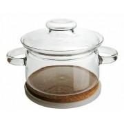 SIMAX Garnek szklany 1 L, żaroodporny SIMAX - Gourmet, bez niklu