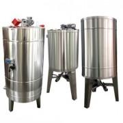 Bazin pentru miere 500KG cu omogenizator, capac si incalzire