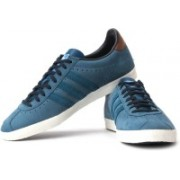ADIDAS Gazelle Og Sneakers For Men(Blue, Brown)
