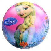 Disney hercegnők: Jégvarázs gumilabda - 23 cm-es, kék-rózsaszín