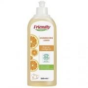 Detergent Lichid de Vase cu Ulei Organic de Portocale 500ml