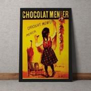 Quadro Decorativo Chocolat Menier 35x25