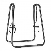 Klarfit Paarafit Push Up Stand DIP Stand incl. Sling formator negru (FIT3-Paarafit)