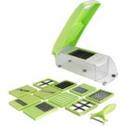 12 In 1 Vegetable Cutter - Chopper Chipser Grater Slicer Dicer Peeler - All In One