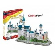 Puzzle 3D Castelul Neuschwanstein, 98 piese