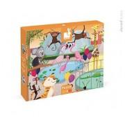 JANOD Puzzle sensoryczne 20 elementów Wycieczka do zoo - zwierzęta, J02774