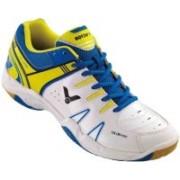 Victor VICTOR SH-A610 Badminton Shoe (White/Blue) Badminton Shoes(Green)