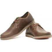 Clarks Maxim Flow Corporate Casuals For Men(Orange, Brown)