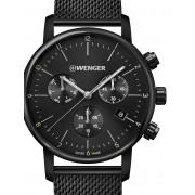 Ceas barbatesc Wenger 01.1743.116 Urban Klassik Cronograf 44mm 10ATM