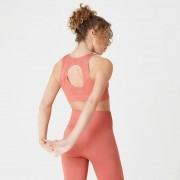 Myprotein Sujetador Deportivo Sin Costuras Shape - Rosa Cobrizo - XS