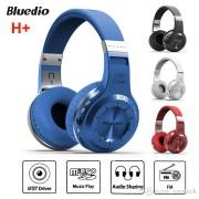 Casti Bluetooth Bluedio H+ Bluetooth 4.1 Wireless Stereo microfon incorporat microSD FM