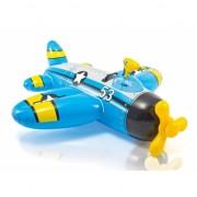 Water vliegtuig blauw 132 cm