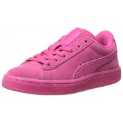 PUMA Suede Iced Fluo Kids Sneaker (Toddler/Little Kid/Big Kid) , Beetroot Purple/White, 7 M US Toddler