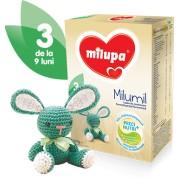 Milupa Milumil 3 lapte formula de continuare, partial fermentata 9-12 luni, 600 g