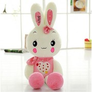Cartoon Animals Plush Rabbit Toys-Judy Dre am Cute Children's Toy PP Cotton Doll Soft Pink/Green Rabbits Toys for Kid 39-Inch