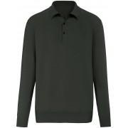 Peter Hahn Polo-Pullover aus 100% PREMIUM Kaschmir Modell Pau Peter Hahn Cashmere grün
