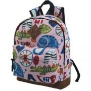 Детский рюкзак STELZ розовый с животными