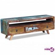 vidaXL TV Ormarić sa 3 ladice Reciklirano Drvo