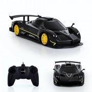 Spire Tech St-232 Rc Car Pagani Zonda R Remote Electric Radio Controlled Toy, Black, 1: 24 Scale