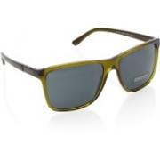 DKNY Rectangular Sunglasses(Black)