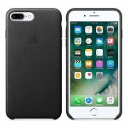 Оригинален Кожен Кейс - APPLE iPhone 8 Plus / 7 Plus Leather Case Black Mmyj2zm/a