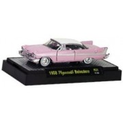 M2 Auto-thentics 1958 Plymouth Belvedere 1/64 Release 22