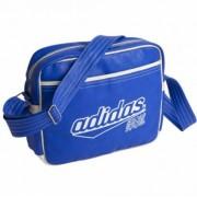 Adidas sporttas US style blauw