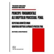 Principii fundamentale ale dreptului procesual penal - Respectarea demnitatii umane - Garantarea dreptului la aparare in procesul penal.